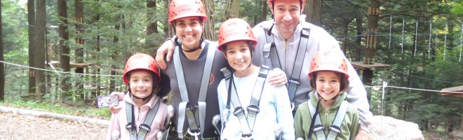 Fearless in the Forest – A High Ropes Adventure in the Berkshires