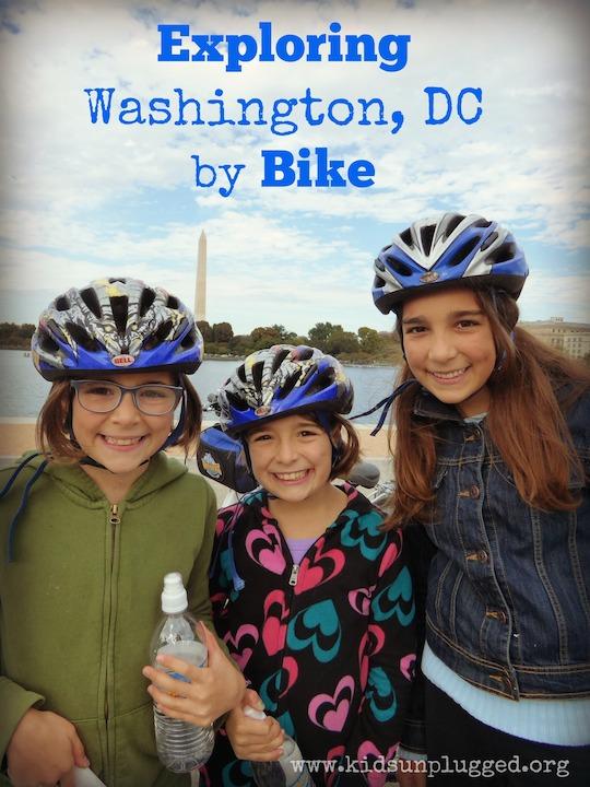 Touring Washington DC by Bike