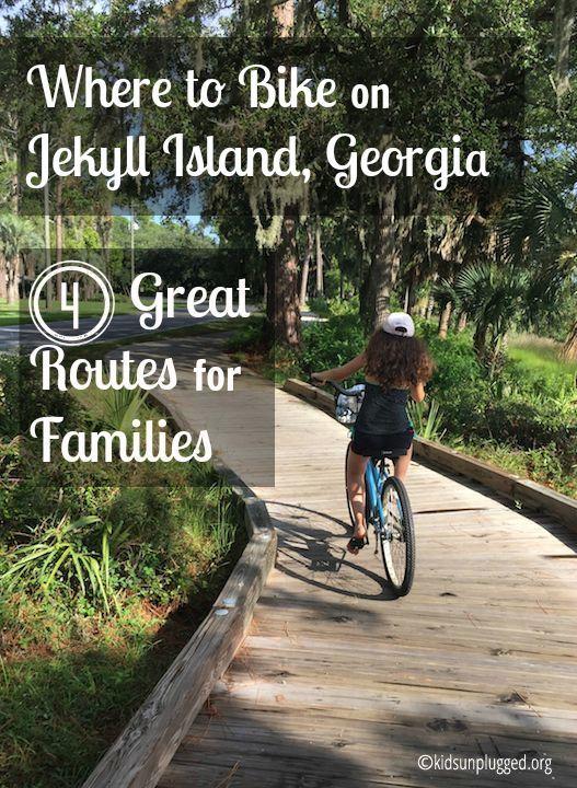 Where To Bike On Jekyll Island Georgia Kids Unplugged