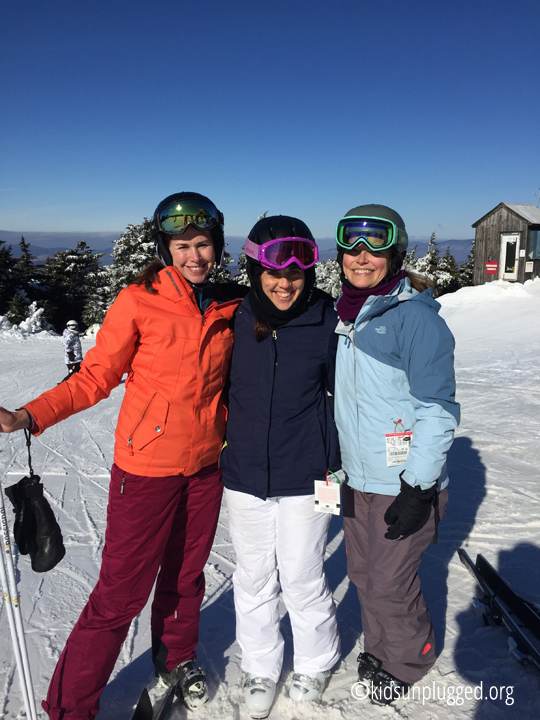 Ski Vermont's All Mountain Mamas Represent at Stratton Resort's Women on Snow Camp