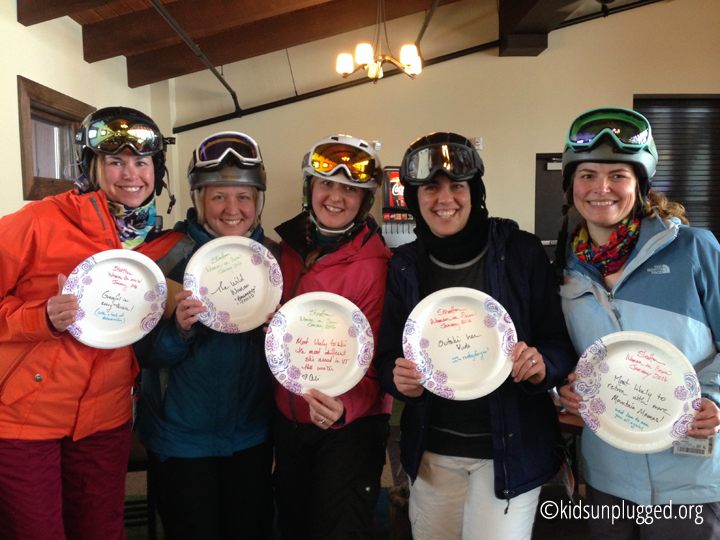 Ski Vermont's All Mountain Mamas at Stratton Resort's Women on Snow Camp