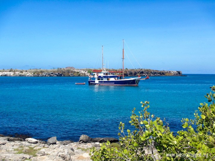 Our sailing vessel, Sun Wind Travel's Samba, took us throughout the Galapagos Islands